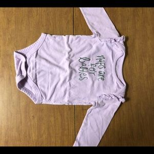 NWOT Jumping Beans Sz12M Naps Are For Babies Onsie